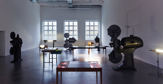 Adrián Villar Rojas, Exhibition view Museum Haus Konstruktiv, 2013, Photographer: Jörg Baumann