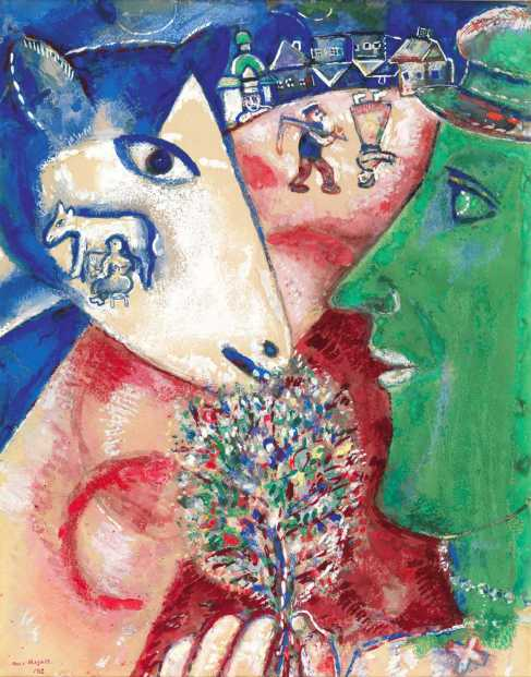 chagal i and the village